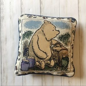 Disney Winnie The Pooh Embroidered Throw Pillow